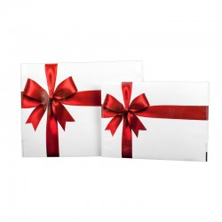 Red ribbon envelope
